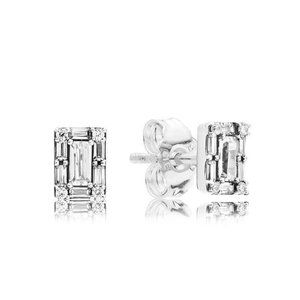 ✨Pandora Sparkling Square Halo Stud Earrings